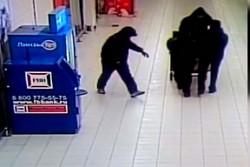 похищение банкомата в супермаркете