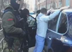 задержание грабителя банкоматов