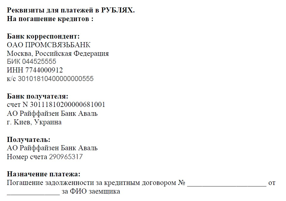 SMS-сервис R-Control - РайффайзенБанк