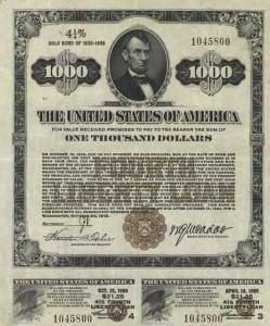 казначейский билет США