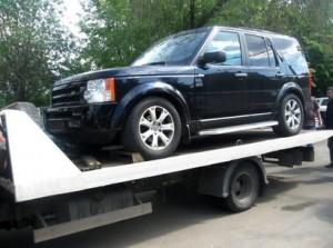 Land Rover передан взыскателю