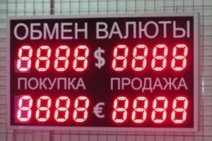 обменные курсы банка