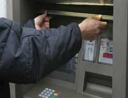 банкомат сбербанка взломали