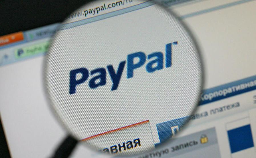 Paypal пополнение наличными