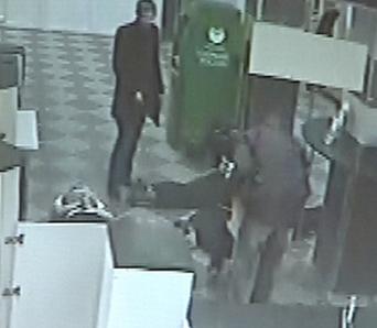 Нападение на Сбербанк Ханты-Мансийск