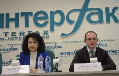 Александр Дунаев и Лора Файнзилберг
