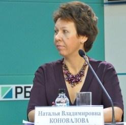вице-президент Банка Москвы Наталья Коновалова
