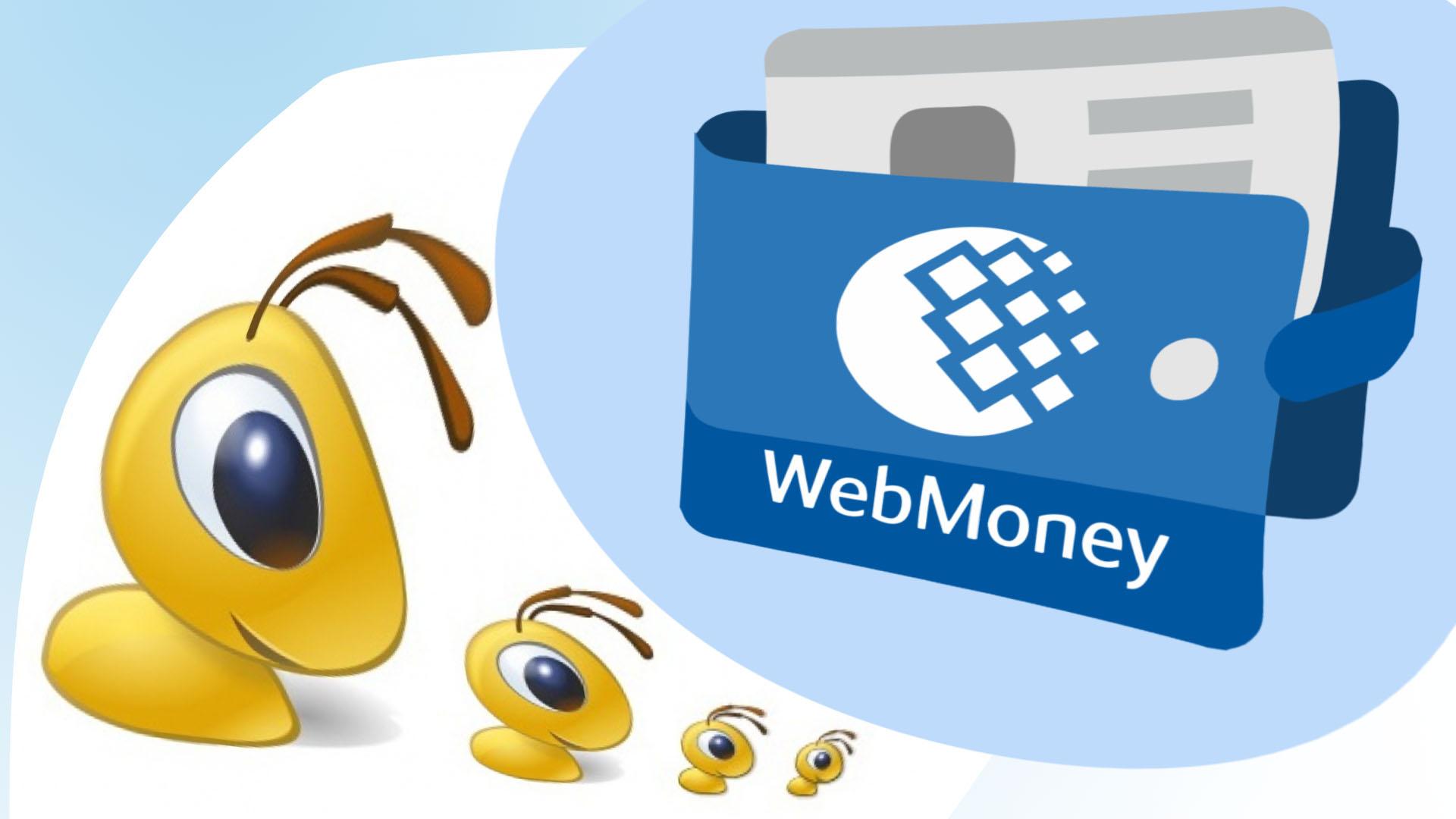 Картинки вебмани кошелек