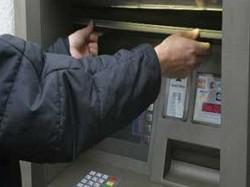 в Челябинске ограбили банкомат
