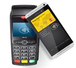 проведение бесконтактных платежей