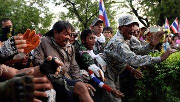 Массовые демонстрации в Таиланде