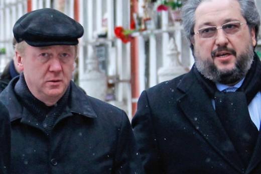 Анатолий Чубайс и Борис Минц