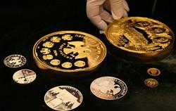 слитки и монеты из драгметаллов