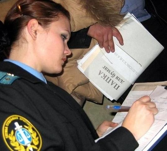 арест имущества приставами