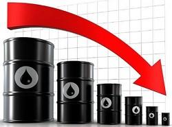 падение нефтяных котировок